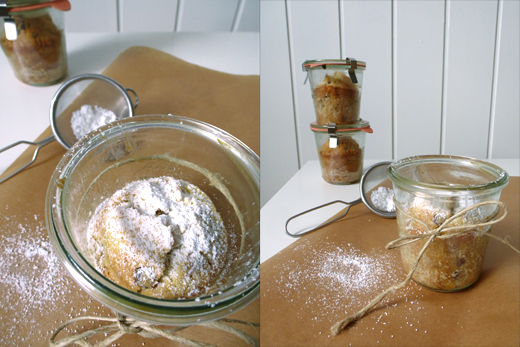 Walnuss Bananen Kuchen Im Glas Holunderweg18