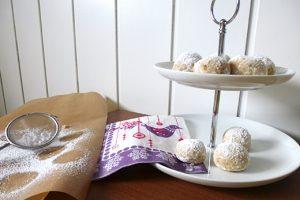 Weihnachtsplätzchen Rezept: Gebrannte Mandel-Konfekt