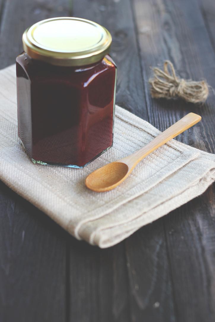 Rezept für Pflaumenmus aus dem Backofen. Pflaumenmus Zwetschgenmus einkochen. Holunderweg18