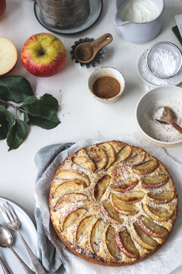 Rezpet Schwedischer Apfelkuchen mit einfachem Rührteig