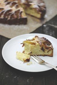 Rezept für schwedischen Apfelkuchen - einfaches Rezept mit saftigem Rührteig