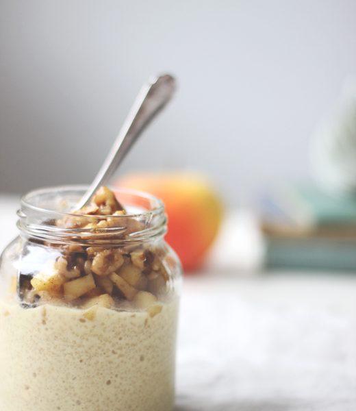 Rezept für gesundes, schnelles Frühstück: Overnight Couscous