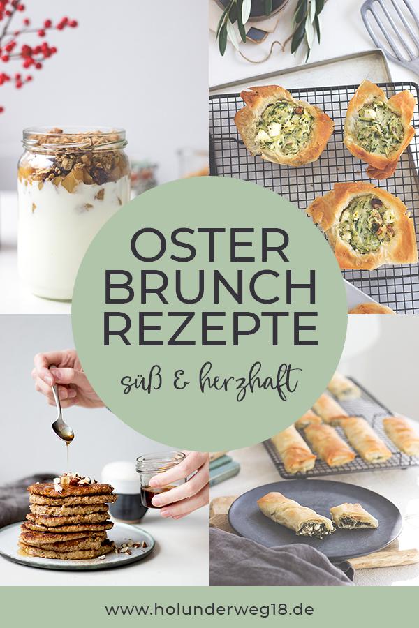 Osterfrühstück, süße und herzhafte Rezepte für den Osterbrunch