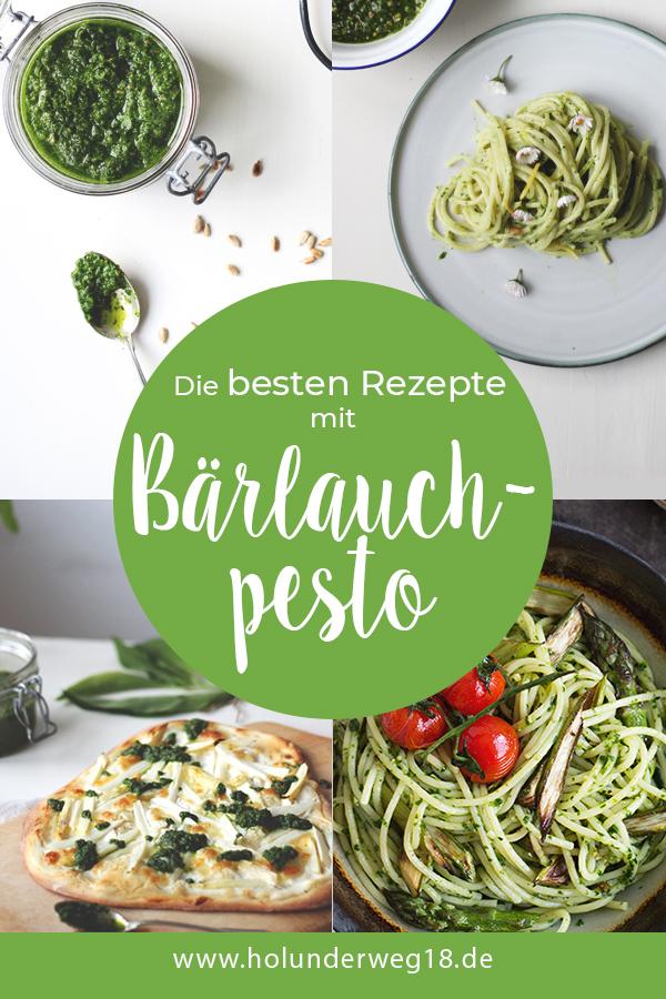 Bärlauch Rezepte: Vegetarische Rezepte mit Bärlauchpesto.