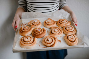 Zimtschnecken Rezept, schwedische Zimtschnecken. Foto: Julia Pommerenke, Rezept: Holunderweg18 Foodblog