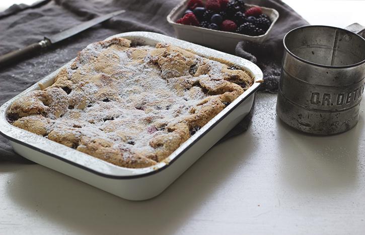 Beerenkuchen vom Blech - Blechkuchen mit Beeren Rezept_Holunderweg18