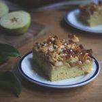 Schwedischer Apfelkuchen vom Blech