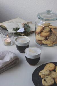 Einfache Weihnachtsplätzchen ohne Ausstechen: Rollenkekse