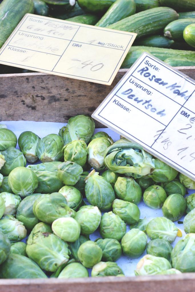 Vegetarisches Rezept für Rosenkohl-Petersilienwurzel-Quiche