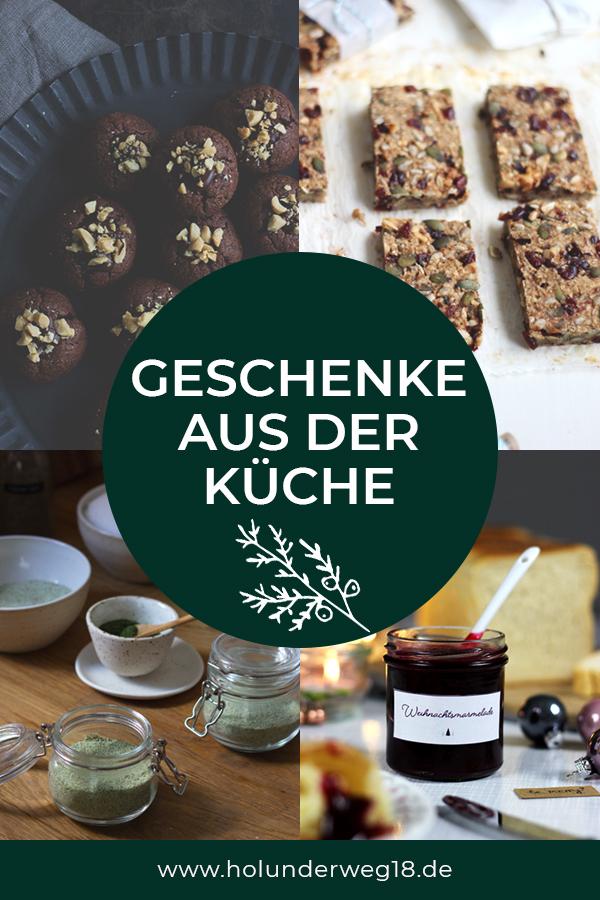 Rezepte für süße und herzhafte  selbstgemachte Geschenke aus der Küche